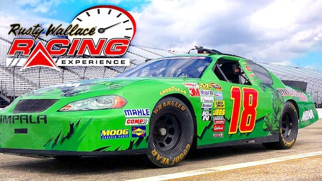 Rusty Wallace Racing Experience 60 LA Discount Rush49