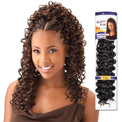 FreeTress Synthetic Hair Crochet Braids GoGo Curl