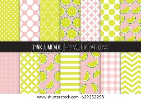 Polka Dot and Gingham Patterns - Download Free Vector Art, Stock - stripes with polka dots