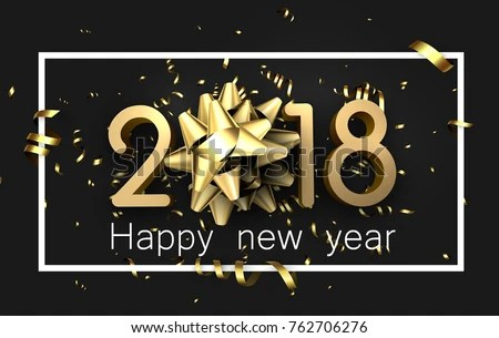 Happy New Year 2019 Background - Download Free Vector Art, Stock