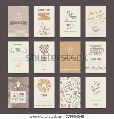 Vector Images, Illustrations and Cliparts Coffee shop invitations