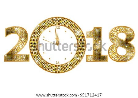 2018 shiny glitter sparkles new year background - Download Free