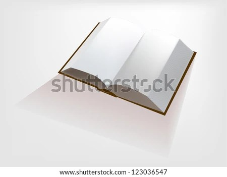 Opened Book EZ Canvas - opened book