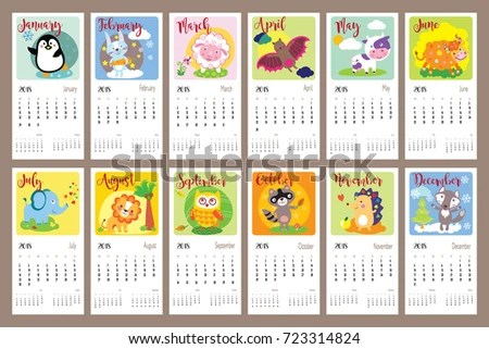 January Printable Monthly Calendar Free Vector - Download Free