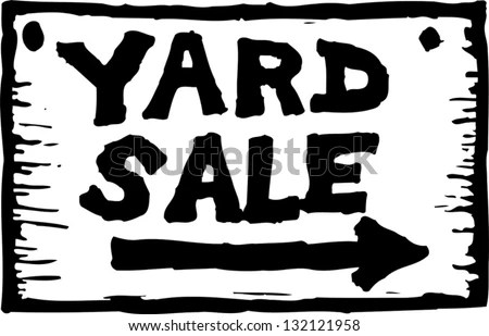 Yard Sale Signs - Download Free Vector Art, Stock Graphics  Images