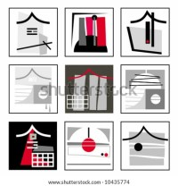 Abstract Constructive Asian Design Elements. To See ...