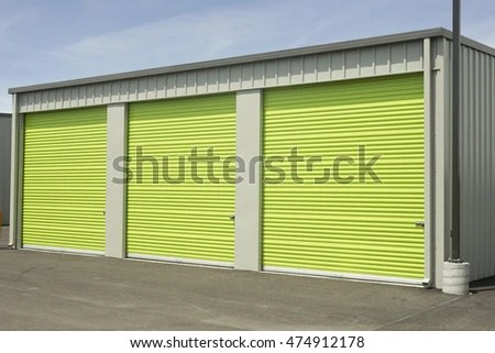 Green And Gray Outdoor Storage Units Ez Canvas