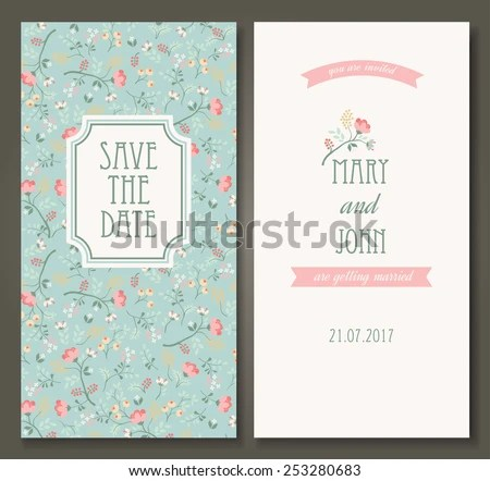 Save the Date Cards - Download Free Vector Art, Stock Graphics  Images - save the date birthday template