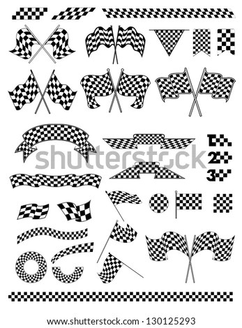 Racing Flag vector 123Freevectors - coupon template