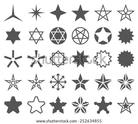 Star Shape Template - Download Free Vector Art, Stock Graphics  Images - stars template
