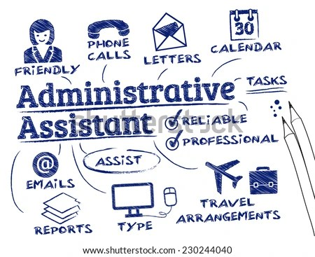 Administrative Assistant - Download Free Vector Art, Stock Graphics - administrative assistant