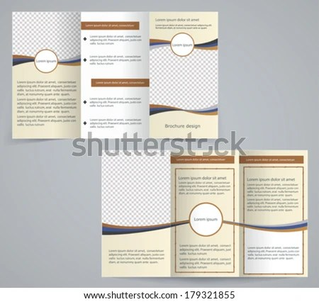 Spa Tri Fold Brochure Vector Template - Download Free Vector Art - spa brochure template