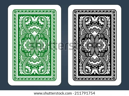 Playing Card Design - Download Free Vector Art, Stock Graphics  Images