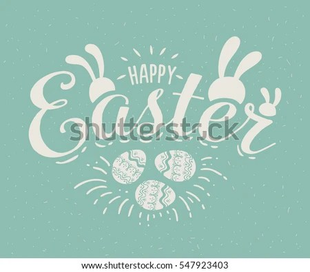 Happy Easter - Download Free Vector Art, Stock Graphics  Images