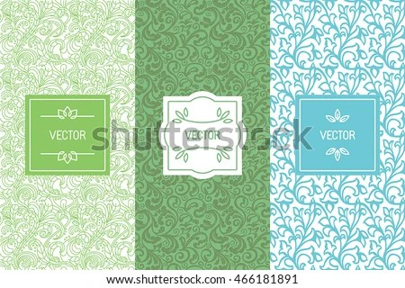 Free Tea Labels Vector Set - Download Free Vector Art, Stock
