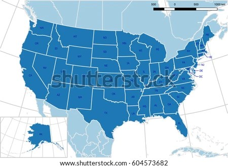 North America Map Vector - Download Free Vector Art, Stock Graphics - editable united states maps
