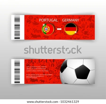 Sporting Event Ticket Template - Download Free Vector Art, Stock - Ball Ticket Template