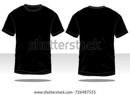 Basic T-Shirt Template - Download Free Vector Art, Stock Graphics - t shirt template
