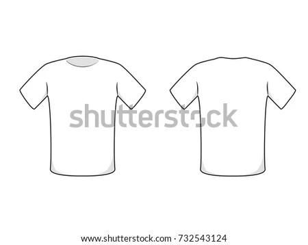 Basic T-Shirt Template - Download Vetores e Gráficos Gratuitos - t shirt template
