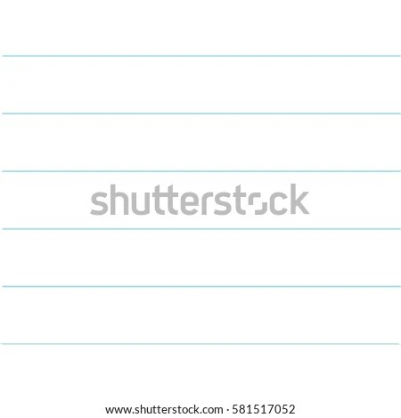 blank lined page – Notebook Paper Background for Word