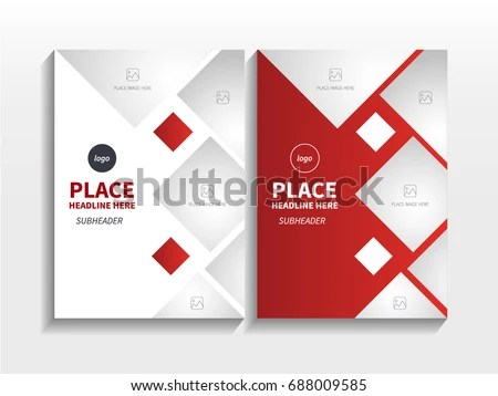 book cover page template design vector - Download Free Vector Art