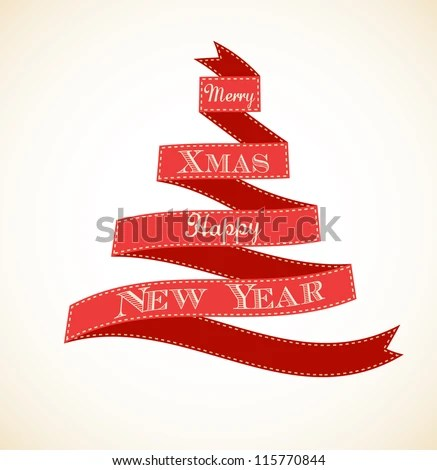 Whatsapp christmas tree free wallpaper images and for Red ribbon around tree