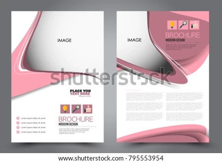Pink Flyer Template - Download Free Vector Art, Stock Graphics  Images - advertisement flyer template