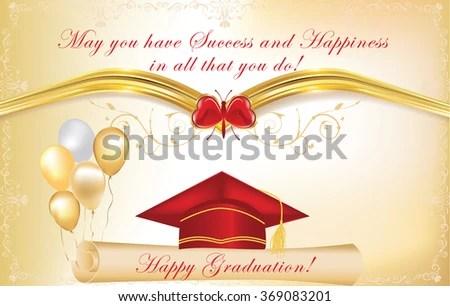 Graduation Card - Download Free Vector Art, Stock Graphics  Images - print grad cards