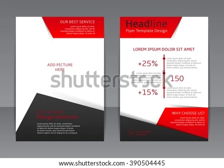 flyer brochure design in A4 size for your business - Download Free