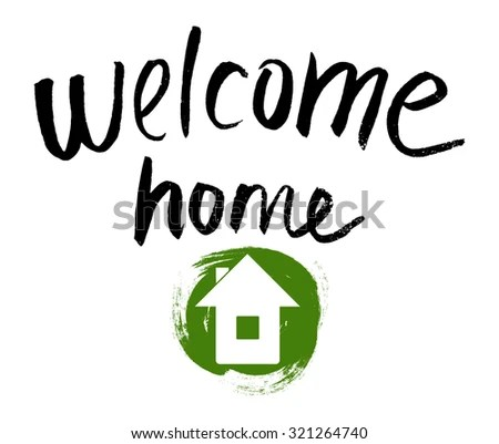 Welcome Home Banners - Download Free Vector Art, Stock Graphics  Images