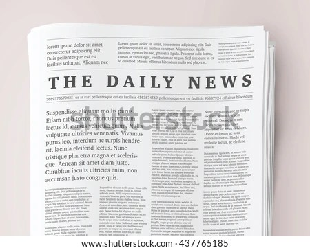 Newspaper Vector - Download Free Vector Art, Stock Graphics  Images