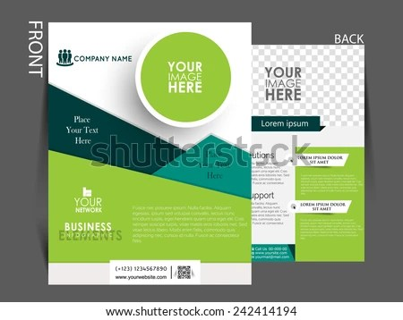 Modern Company Profile Template - Download Free Vector Art, Stock - free company profiles template