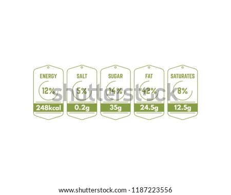 Nutrition Facts Label Vector Templates - Download Free Vector Art4