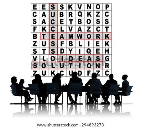 Free photos Success Crossword Puzzle Words Achievement Game Concept - words for achievement