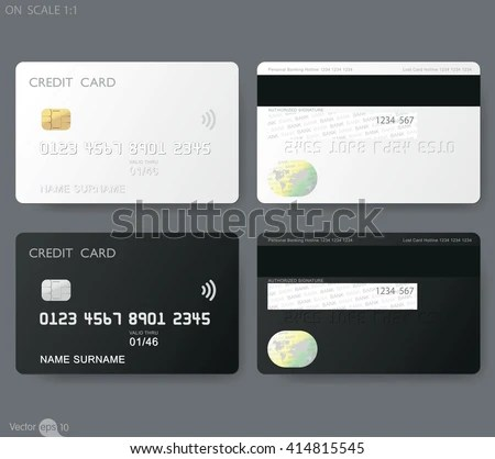 realistic card mockup template - Download Free Vector Art, Stock