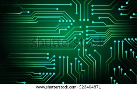 Circuit Board Vector - Download Free Vector Art, Stock Graphics  Images
