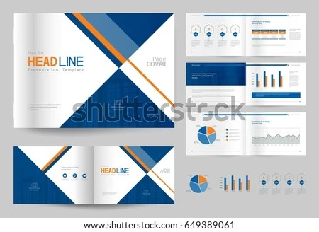 Modern Company Profile Template - Download Free Vector Art, Stock - company profile
