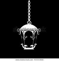 Antique Decorative Outdoor Electric Lamp clip art Free ...