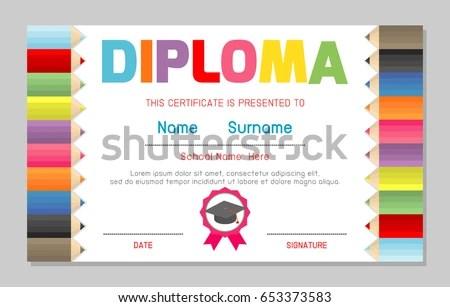 preschool diploma template - Apmayssconstruction