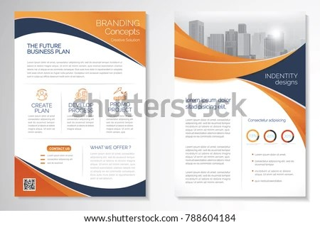 Professional Elegant Corporate Flyer Template Mock Up - Free