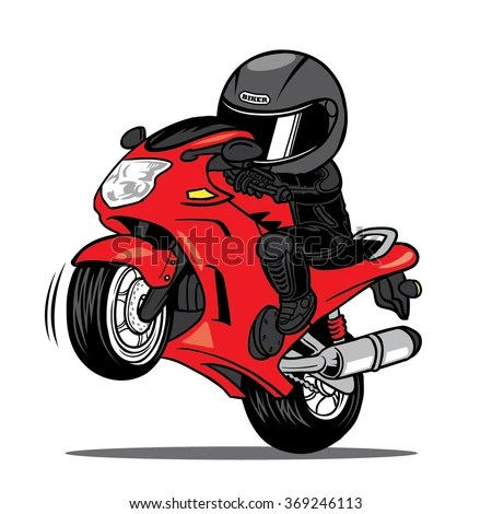 3d Wallpaper Motorcycle Wheelies Vector Images Illustrations And Cliparts Splashing Biker