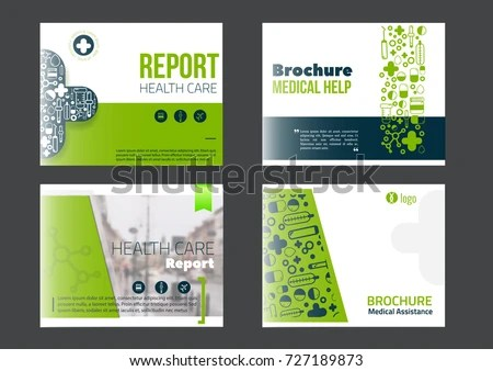 Royalty Free Vector Set Of Brochures And Flyers In