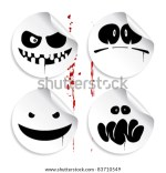 Monster Halloween Emoticon