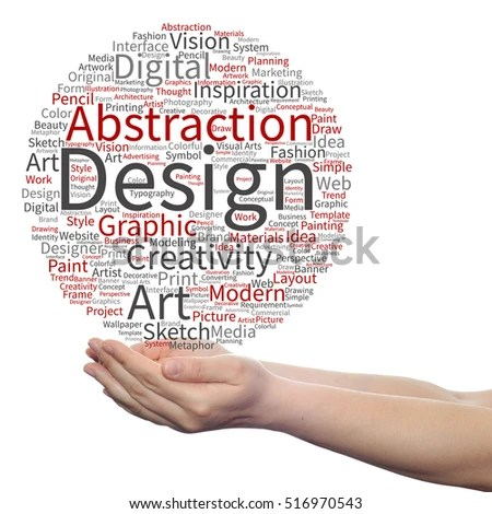 Free photos Design and visual arts word cloud illustration Word
