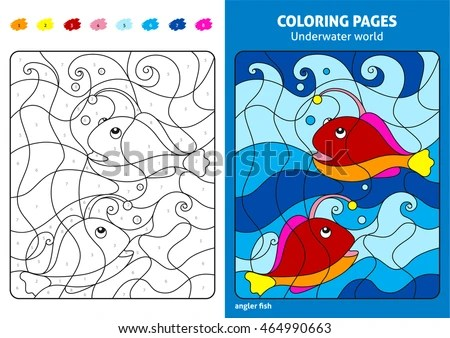 Numbers Coloring Pages - Download Free Vector Art, Stock Graphics