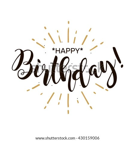 stock-vector-happy-birthday-beautiful-greeting-card-poster-with - power words for resumes