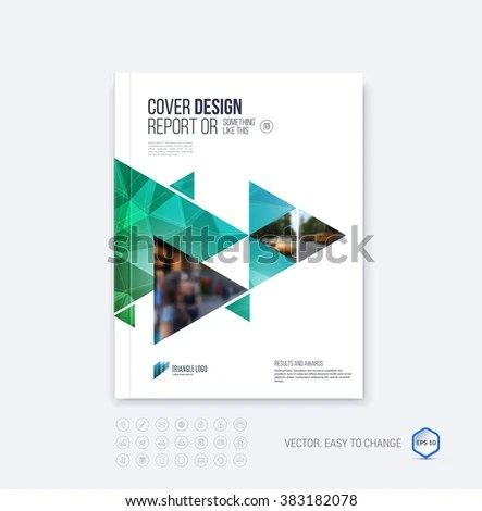 Royalty-free Brochure template layout, cover design\u2026 #383868628 - emerald flyer template