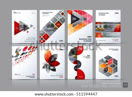 Annual Report Book Cover - Download Free Vector Art, Stock Graphics - design cover