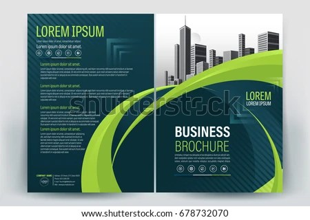 Green Company Profile Template - Download Free Vector Art, Stock - company profile