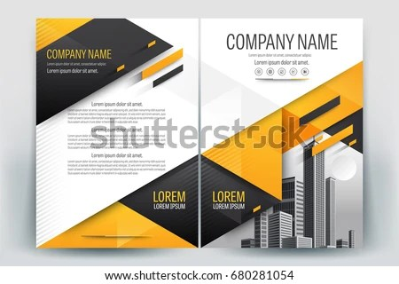 Blank Company Profile Template - Download Free Vector Art, Stock